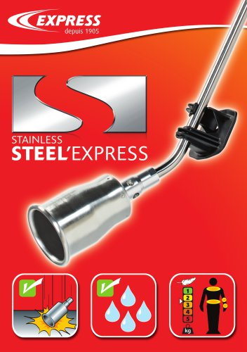 Stainless Steel? Express torches