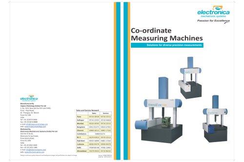 CMM Product Brochure