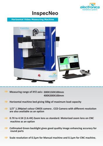 Inspec neo Vision Measuring Machines