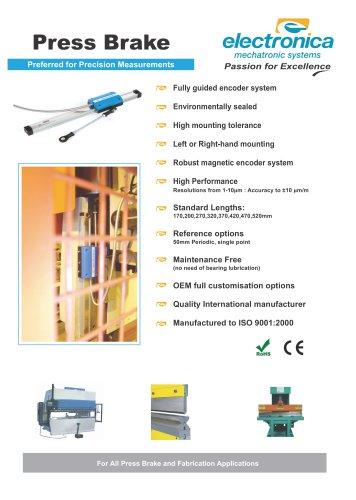 Press Brake Encoder Flyer