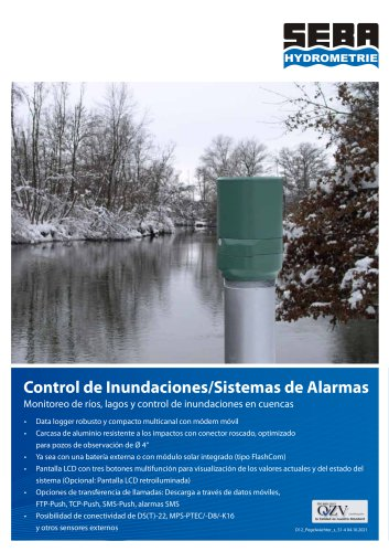 Flood Control - Alarm Systems