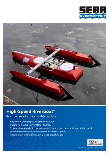 High-Speed Riverboat