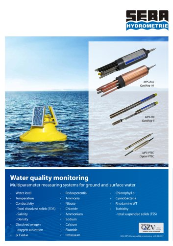 MPS Water quality monitoring