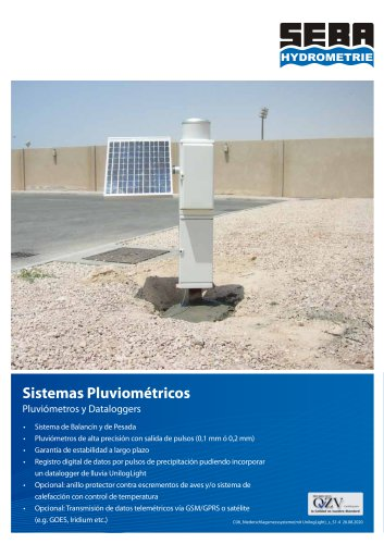 Rain Gauge Measurement Systems