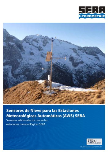 Snow Sensors for SEBA-AWS
