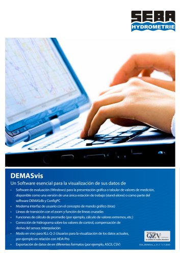 Software DEMASvis
