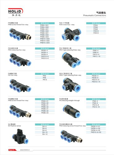 HOLID pneumatic fittings,pneumatic hose fittings,pneumatic component,fitting,cylinder