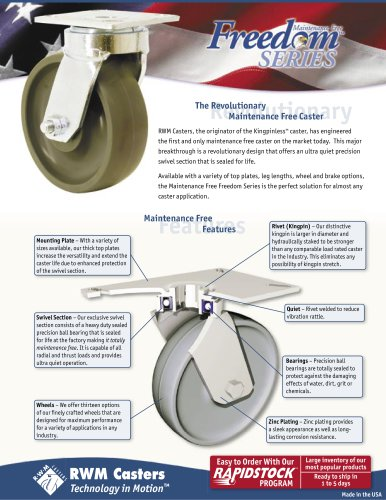 Freedom 48™ Series Casters