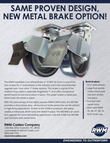 MICWB Brakes