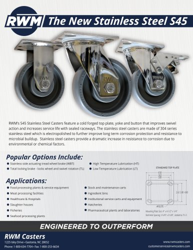 S45 Stainless Steel Series