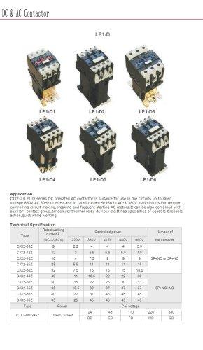 Electronic motor contactor | Bolevo LP1-D series
