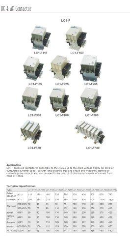 Three-phase AC contactor | Bolevo LC1-F series