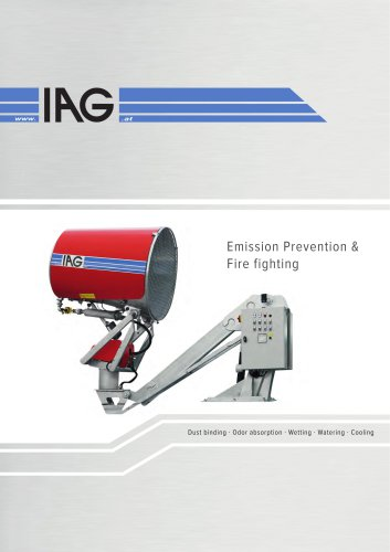 Dust binding - Emission prevention - Firefighting