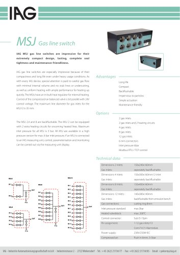 MSJ-Gas line switch