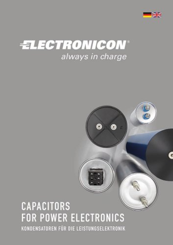 Capacitors for power electronics