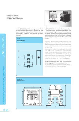 Condensotronic CT2000 Thyristor Switch