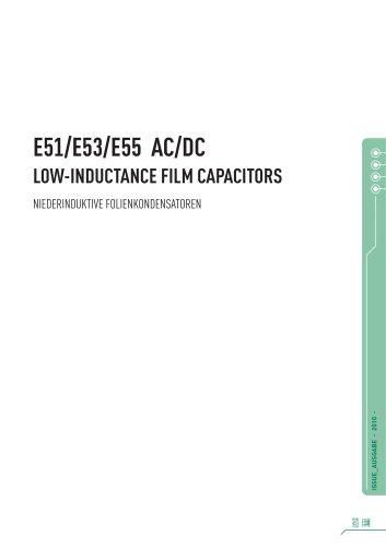 E51 E53 E55 Catalogue