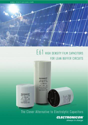 E61 Catalogue