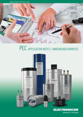 PEC Application notes