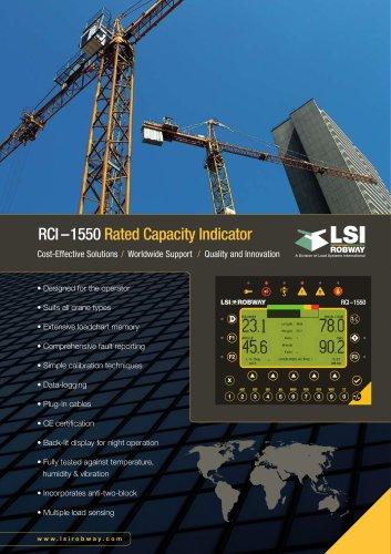 LSI-ROBWAY RCI-1550 multi-sensor display
