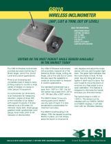 LSI wireless boom angle sensor