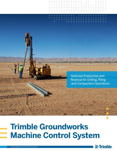 Trimble Groundworks Machine Control System