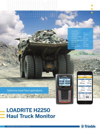 Trimble LOADRITE H2250