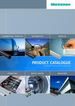 Metzner - Product Catalogue for Rubber and Plastics Processing