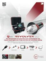 INVIZ REVOLVER 80 pipe inspection camera