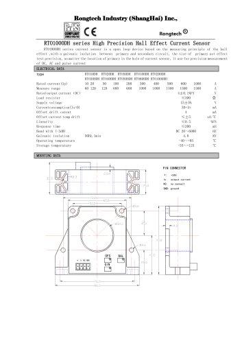 RT1000DH open loop current sensor