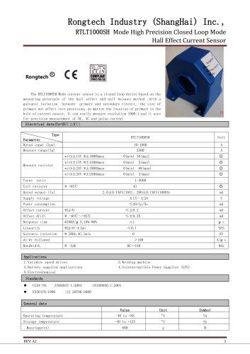 RTLT1000SH current sensor