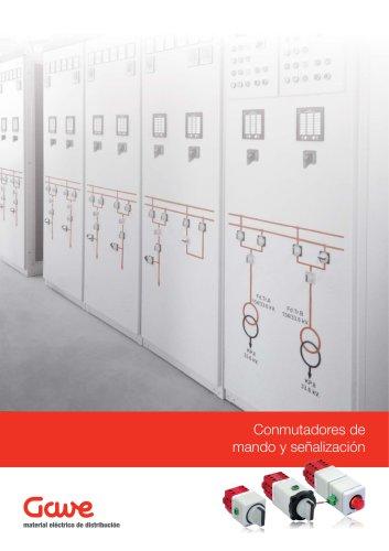 Conmutadores de mando y señalización
