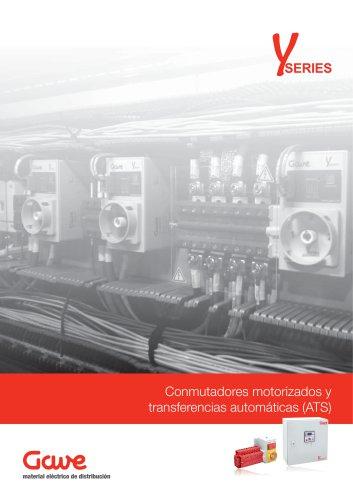 Conmutadores motorizados y transferéncias automáticas (ATS)