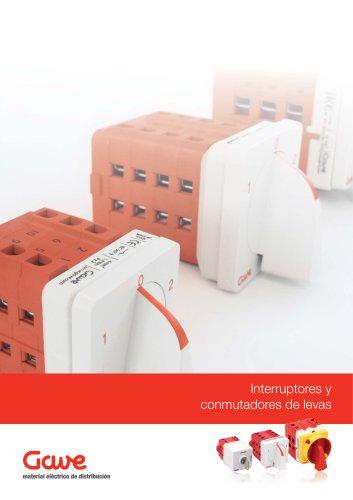 Interruptores y conmutadores de levas