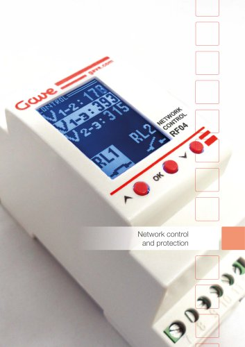 Network control and protection (General Catalogue)