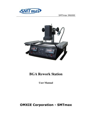 SMTmax IR-6000  Dark Infrared BGA Rework Station