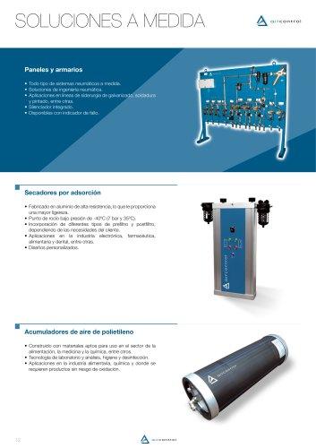 Polyethylene air accumulators