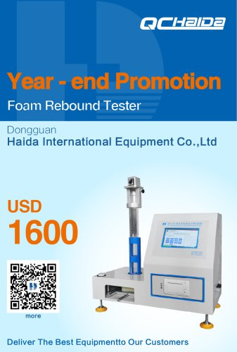 ASTM D3574 FOAMS BALL DROP IMPACT REBOUND TEST MACHINE