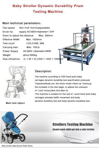 Baby Stroller Dynamic Durability Pram Testing Machine