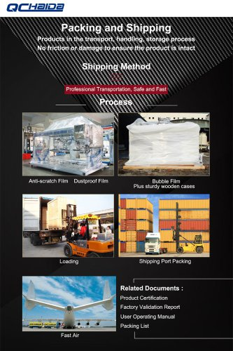 Haida instruments import and export packaging and transportation