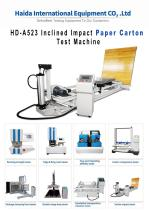 HD-A523 Inclined Impact Tester