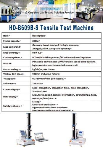 HD-B609B-S Tensile Test Machine