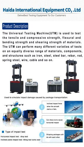 HD-B611-S Tensile Test Machine