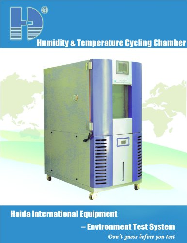 Humidity & Temperature Cycling Chamber