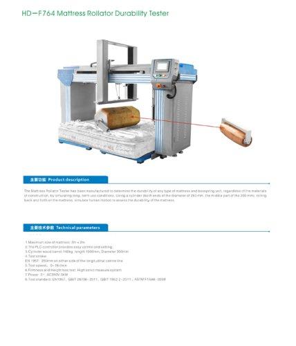 Mattress Rollator Durability Tester