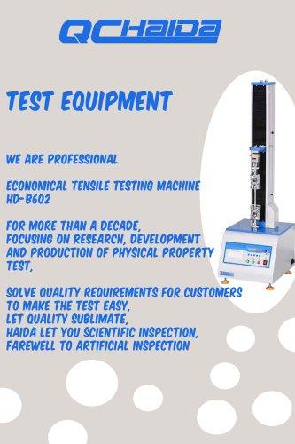 test equipement
