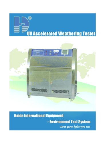 UV Accelerated Weathering Tester