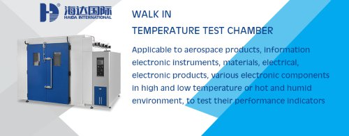 walk in test chamber manufacturer