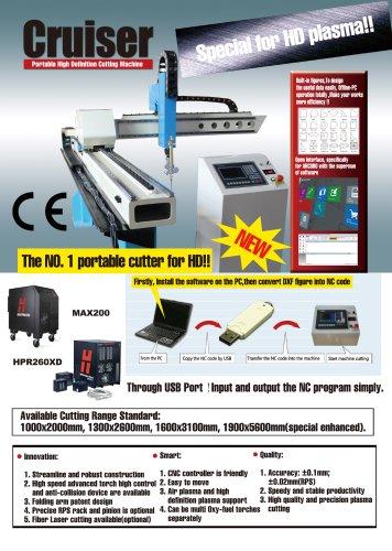 ARCBRO Cruiser HD Portable CNC Cutter