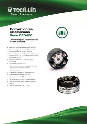 DFD420_Convertidor_y_transmisor_caudal
